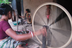 A roda Charkha do ciclo Imagem de Stock Royalty Free