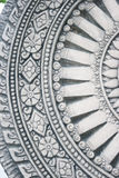 Roda cinzenta escura do tijolo w da textura da telha da pedra da vida Imagem de Stock Royalty Free