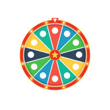 Roda colorida da fortuna ilustração stock