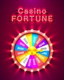 Roda colorida da fortuna Foto de Stock Royalty Free