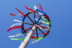 Roda com fitas coloridas Imagem de Stock Royalty Free