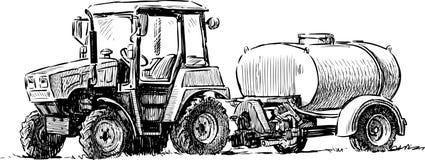 4 Roda-Conduza o trator #5 Imagens de Stock