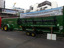 4 Roda-Conduza o trator #5 Parada do prefeito do senhor de Londres 2014 Imagem de Stock