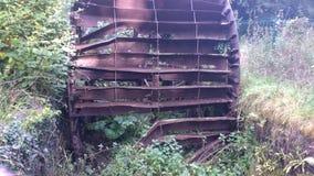 roda d'água oxidado velho Imagem de Stock Royalty Free