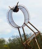 Roda da acrobata da morte Foto de Stock Royalty Free