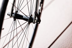 Roda da bicicleta imagem de stock