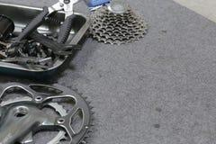 Roda da bicicleta Fotografia de Stock Royalty Free