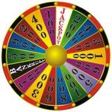 Roda da fortuna Fotografia de Stock