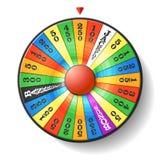Roda da fortuna Imagem de Stock
