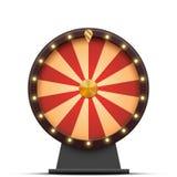 Roda da fortuna colorida do vetor ilustração royalty free