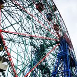 Roda da maravilha de Coney Island fotografia de stock
