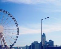 roda da observação de Hong Kong Imagens de Stock Royalty Free