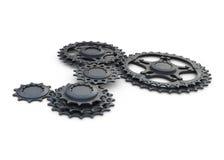 Roda da roda denteada ilustração stock