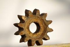 Roda da roda denteada fotografia de stock