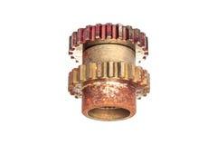 Roda da roda denteada, engrenagem mecânica Imagem de Stock Royalty Free