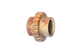 Roda da roda denteada, engrenagem mecânica Fotografia de Stock Royalty Free