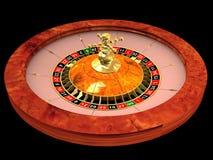 Roda da roleta Imagens de Stock Royalty Free