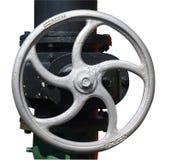 Roda da válvula de motor do vapor Imagens de Stock