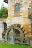 Roda de água, Hamlet de Versalhes da rainha imagens de stock royalty free