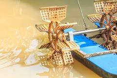 Roda de água velha Fotografia de Stock