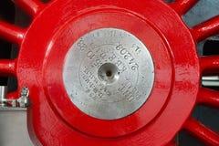 Roda de aço locomotiva imagens de stock royalty free