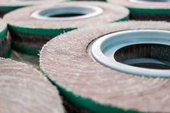 Roda de abrasivos Fotos de Stock