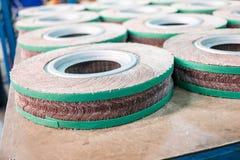 Roda de abrasivos Foto de Stock Royalty Free