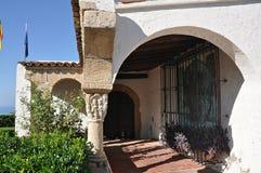 Roda de Bara, Tarragona, Spain. Roc de Sant Gaieta in Roda de Bara, Tarragona, Catalonia royalty free stock image