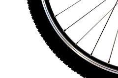 Roda de bicicleta fotografia de stock