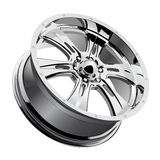 Roda de Chrome Foto de Stock