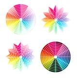 Roda de cor Imagens de Stock