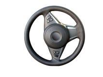 Roda de direcção com trajeto Foto de Stock Royalty Free