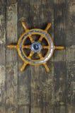 A roda de direcção de navigação-envia Imagens de Stock Royalty Free