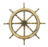 Roda de direcção do navio Fotos de Stock Royalty Free