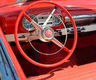 Roda de direcção do vintage Foto de Stock