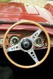 Roda de direcção do vintage Imagem de Stock Royalty Free