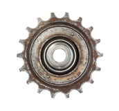 Roda de engrenagem da bicicleta fotografia de stock royalty free