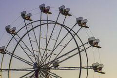 Roda de Farris da feira de condado Fotos de Stock
