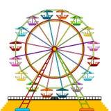 Roda de Ferris ilustração do vetor