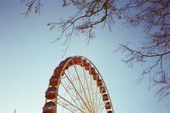 Roda de Ferris Fotos de Stock Royalty Free