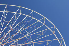 Roda de Ferris abandonada Imagens de Stock Royalty Free