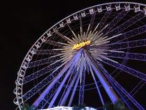 Roda de Ferris bonita fotografia de stock royalty free