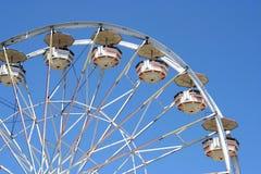 Roda de Ferris branca foto de stock