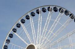 Roda de ferris centenária do cais da marinha Fotos de Stock Royalty Free
