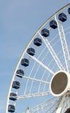 Roda de ferris centenária no cais da marinha Foto de Stock