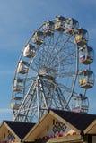 Roda de Ferris com bandeiras Foto de Stock Royalty Free