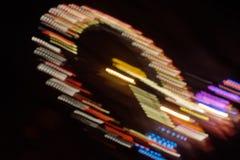 Roda de Ferris com iluminação imagem de stock royalty free