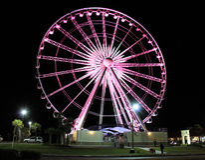 Roda de Ferris da praia de Pensacola Foto de Stock