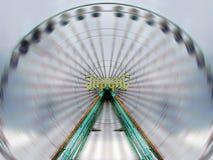 Roda de Ferris de alta velocidade imagem de stock