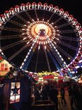 Roda de Ferris do Natal Foto de Stock Royalty Free